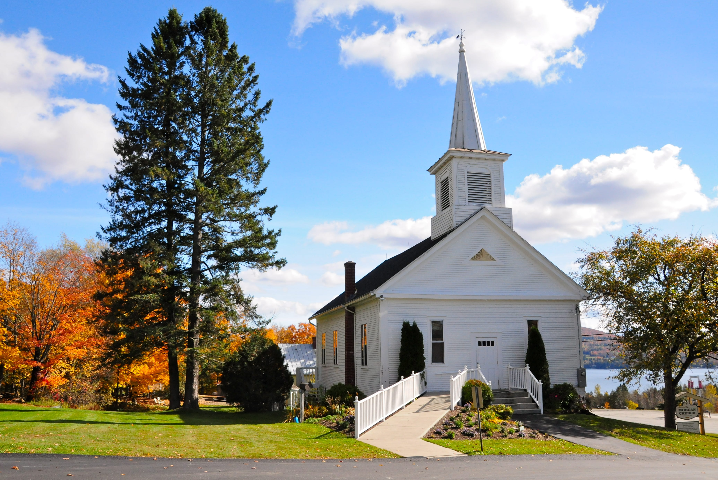 Rustic church for weddings