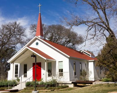 Country church started by ordained minister